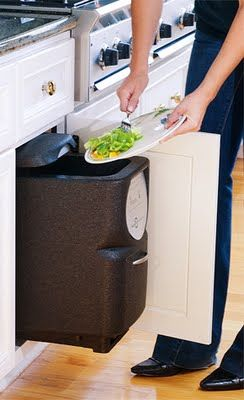 composting bin ideas for the kitchen home organization and rh pinterest com