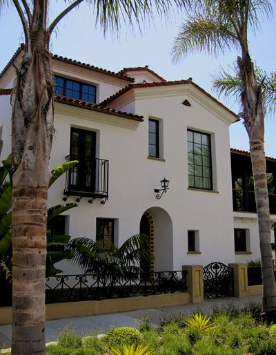 Santa Barbara Style Home Design Stellar Architecture