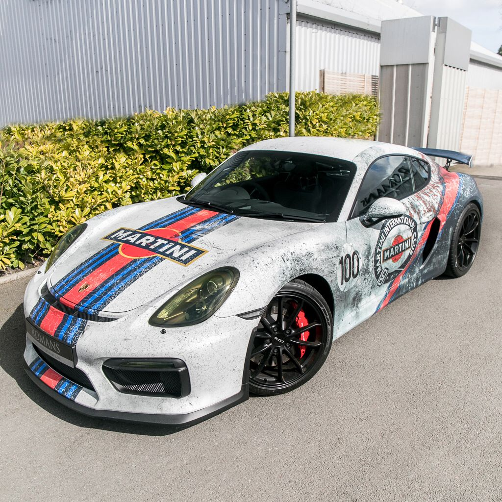 Porsche, Cayman, Martini Racing