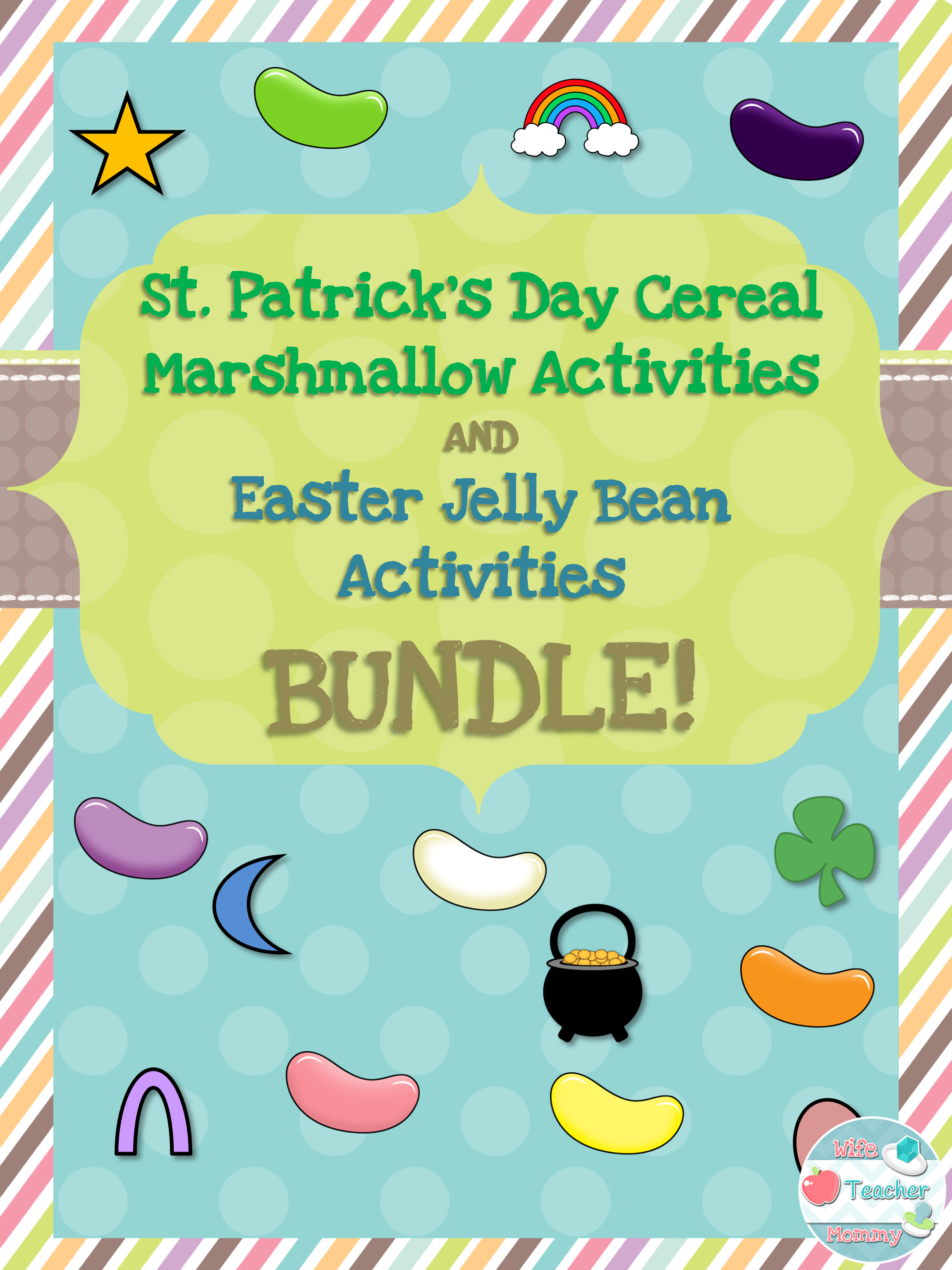 This Bundle Will Provide You With Activities For Two Holidays In One Purchase St Patrick S Day