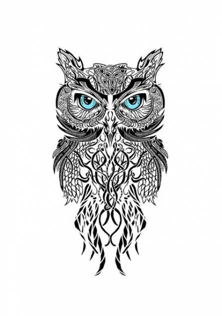 Best tattoo thigh owl eyes Ideas | Glow tattoo, Tattoos ...