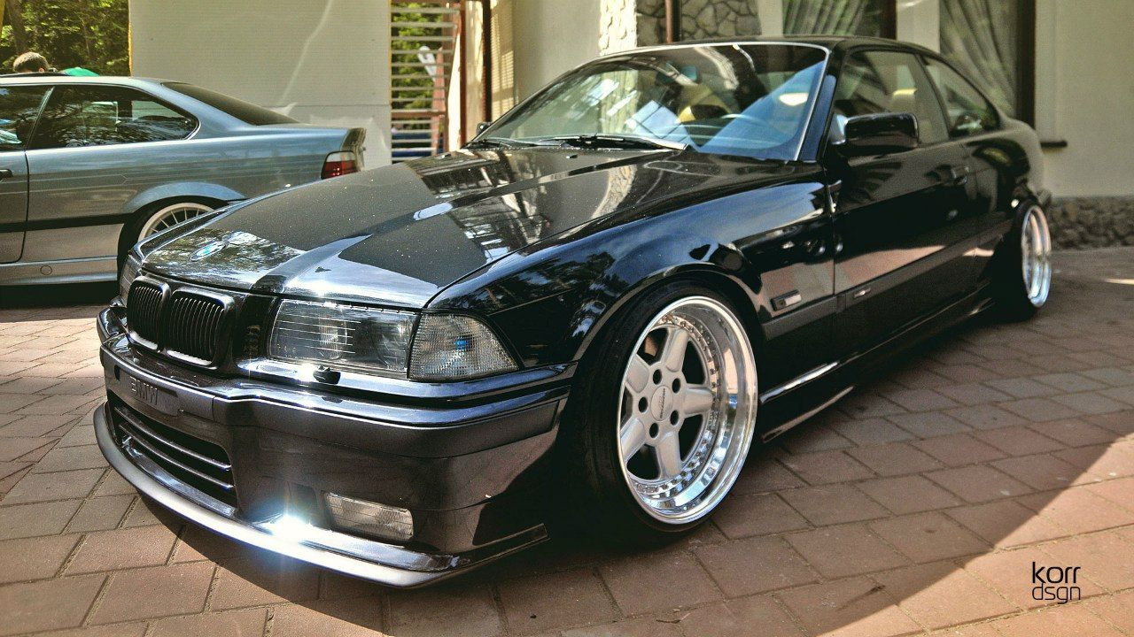 black bmw e36 coupe on cult classic oz ac schnitzer typ 1. Black Bedroom Furniture Sets. Home Design Ideas