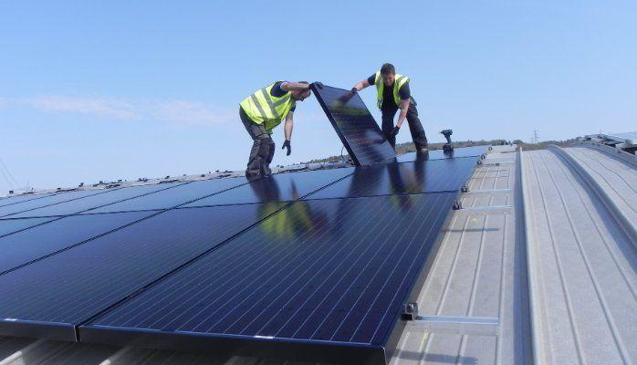 Elegant Solar Edge Vs Enphase Vs SMA On One Roof!
