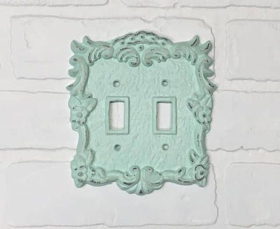 light switch plate 24 color shabby chic light switch cover rh pinterest com