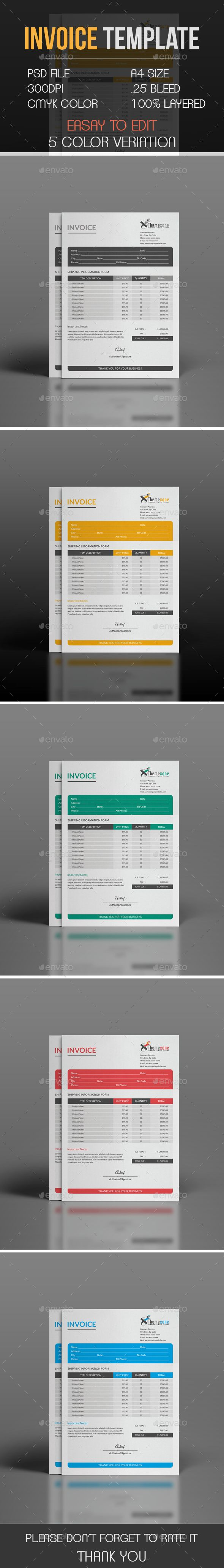 Invoice by themexone This is a Corporate