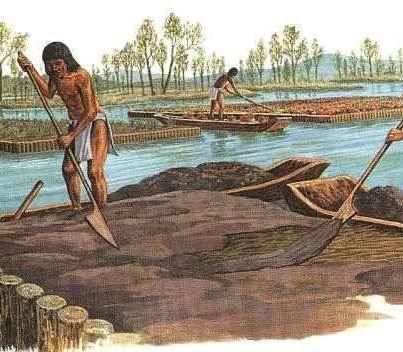 Chinampas Aztec Floating Islands Definitely Inspiration For A Novel