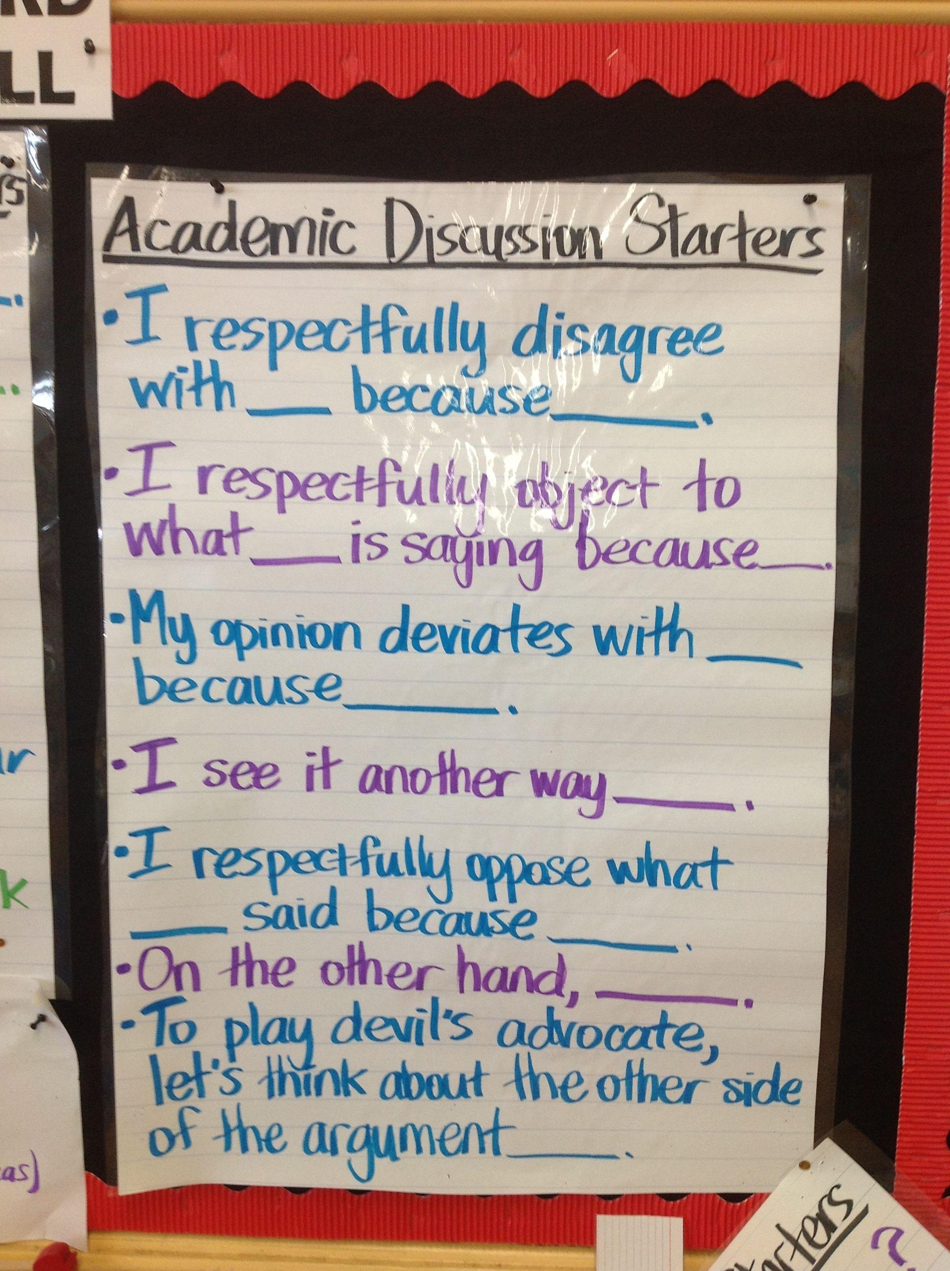Academic discourse Academic discourse Habits of