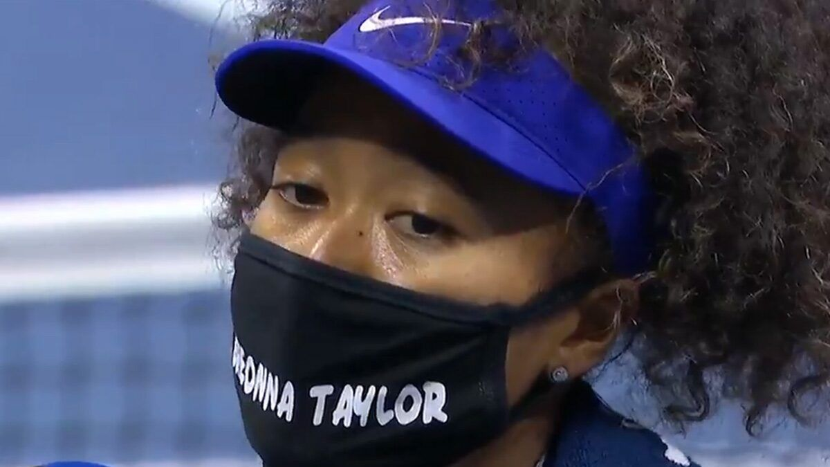 Naomi Osaka Wears Breonna Taylor Mask To U S Open More Tributes Planned Vpchurchill In 2020 Naomi How To Wear Breonna Taylor