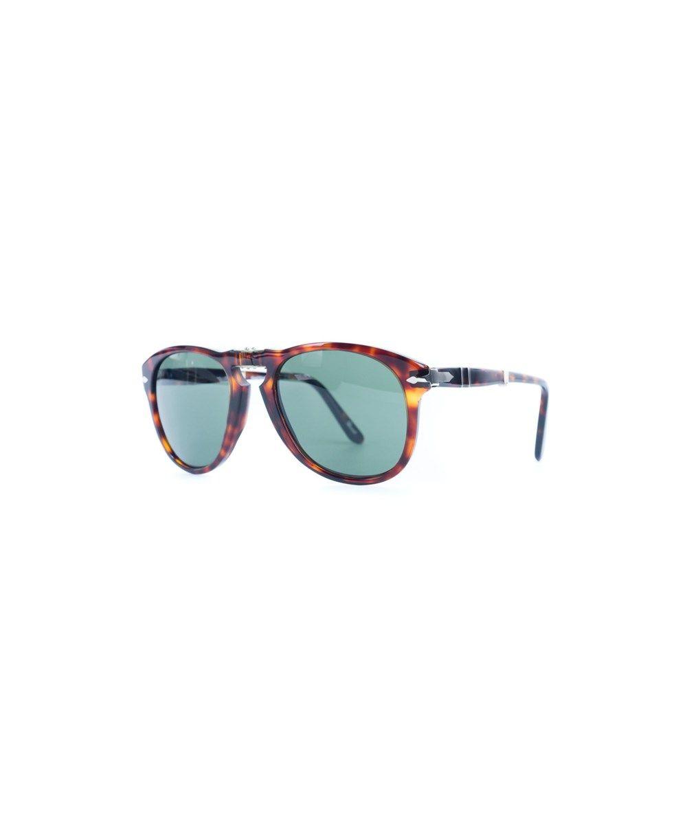 b7fce0c589 PERSOL Persol Po0714 Havana Crystal Green Folding Sunglasses.  persol