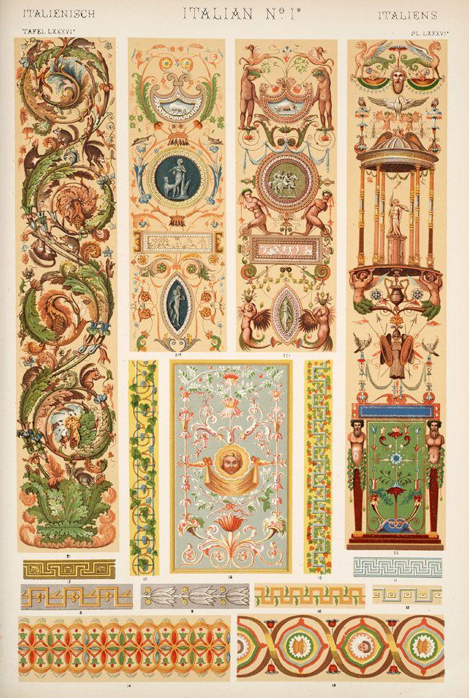 Jones, Owen, 1809-1874. / The grammar of ornament (1910) [Italian ...