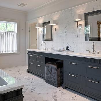 charcoal gray vanity contemporary bathroom mdd architects house rh pinterest com