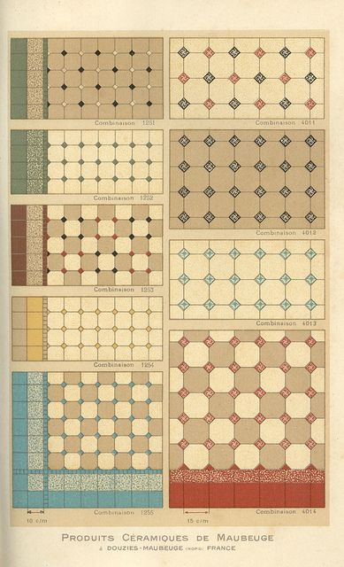 Mas Tamanos Douzies P18 Flickr Intercambio De Fotos Antique Tiles Tile Stained Mosaic Flooring