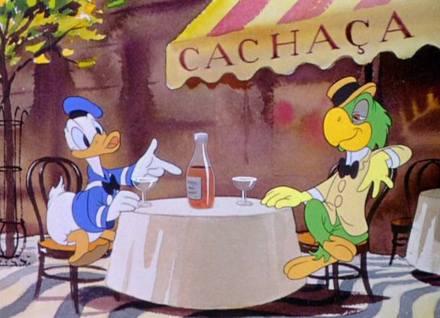 Donald And Jose Carioca Disney Fun Disney Movies Walt Disney