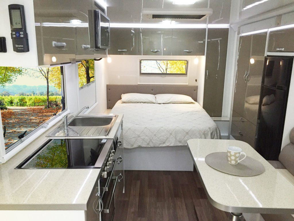 image result for modern caravan renovation ideas home rv roundup rh pinterest com