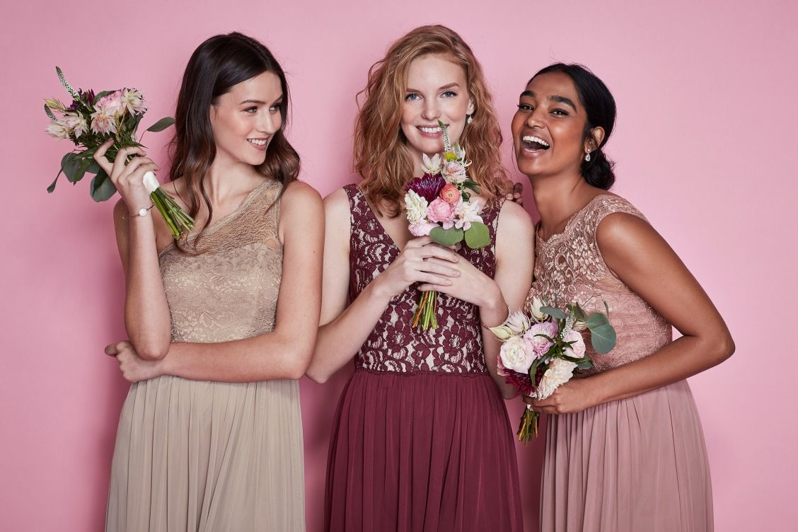 Wine is THE bridesmaid color we are loving. It pairs beautifully ...
