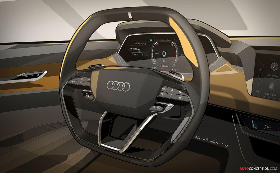 new audi e u2011tron gt concept debuts at la auto show my cars rh pinterest com