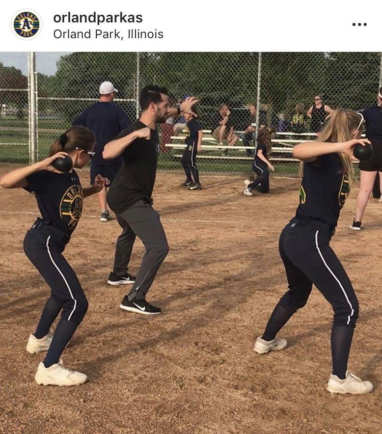 Orland Park A S Chicago June 2019 Travel Softball Softball Players Baseball Softball