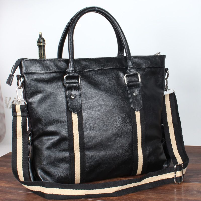 Korean fashion leisure business briefcase computer bag portable shoulder diagonal cross section of current male package