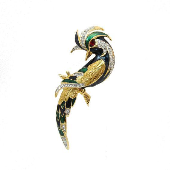D/'Orlan Special Bird Brooch
