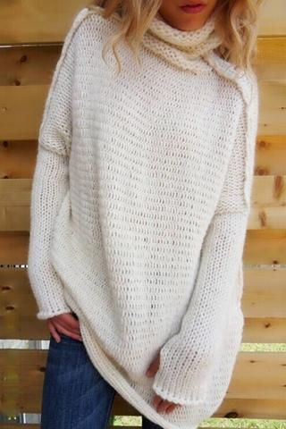 983cf5610b00 Poppoly Winter Elegant Turtleneck Sweater