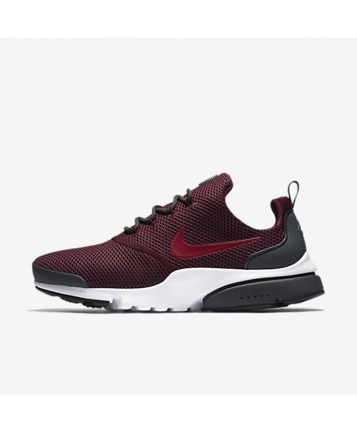 Nike Air Presto Fly Bordeaux Anthracite White Noble Red 908020 601 Men Shoes Size Nike Presto Shoes Mens