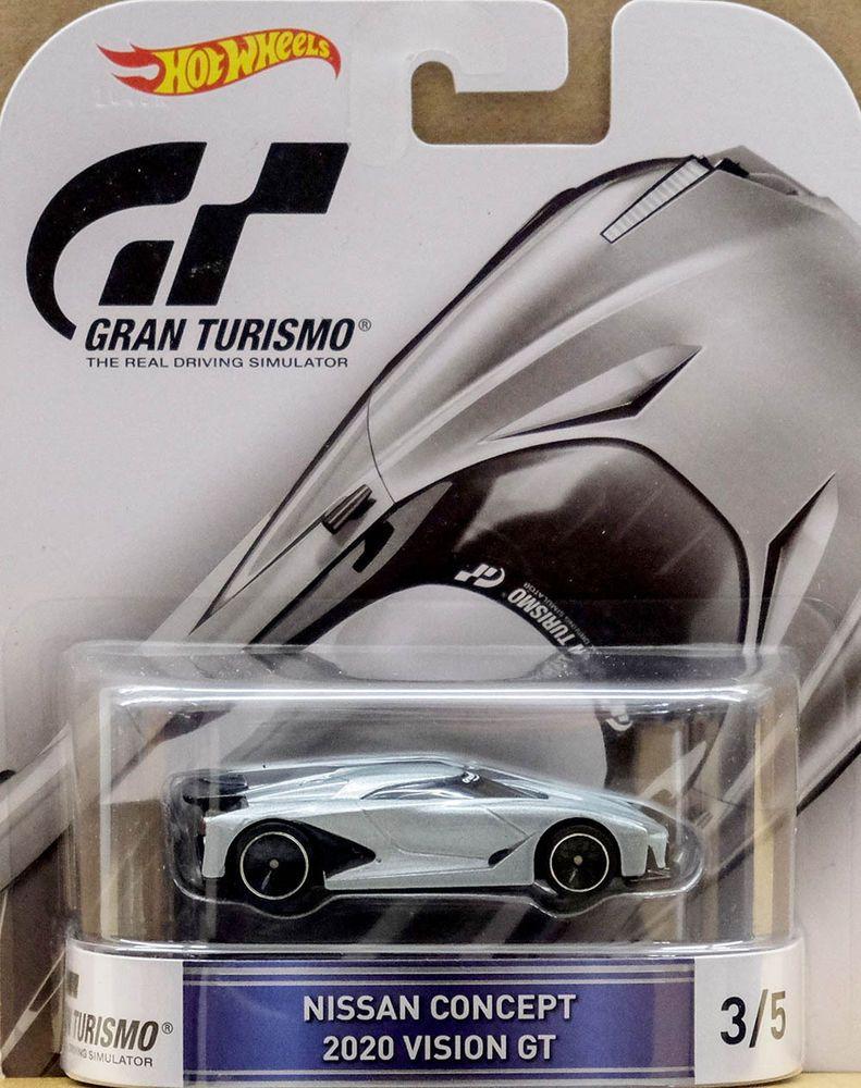 Nissan Concept 2020 Gran Turismo Ps 1 64 Hot Wheels Retro Entertainment Djf56 Hot Wheels Nissan Matchbox Autos