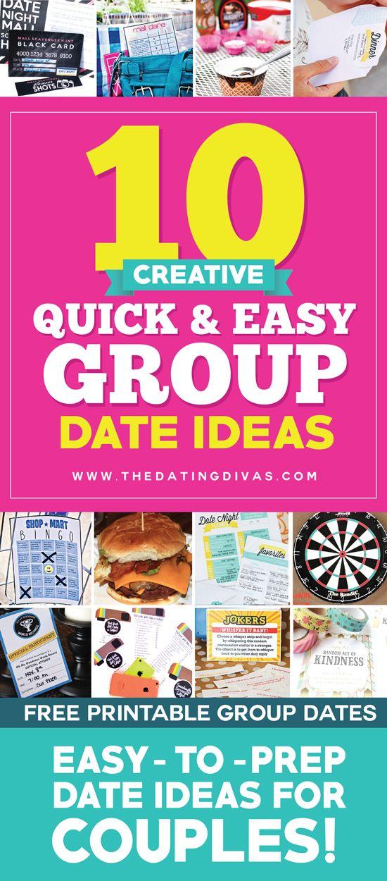 Fun group dates