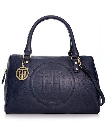 Tommy Hilfiger Satchel - Navy.  Perfect for every outfit.