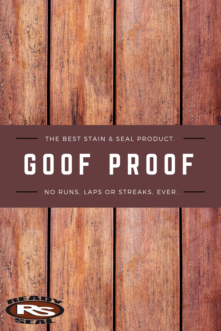 Typical Wood Stains Require Back Brushing A Process Where You