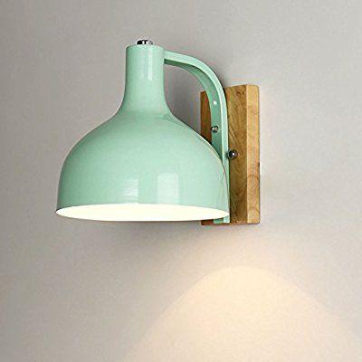 Kreative einfache Design Farbe lackiert Eisen Wandleuchte Retro