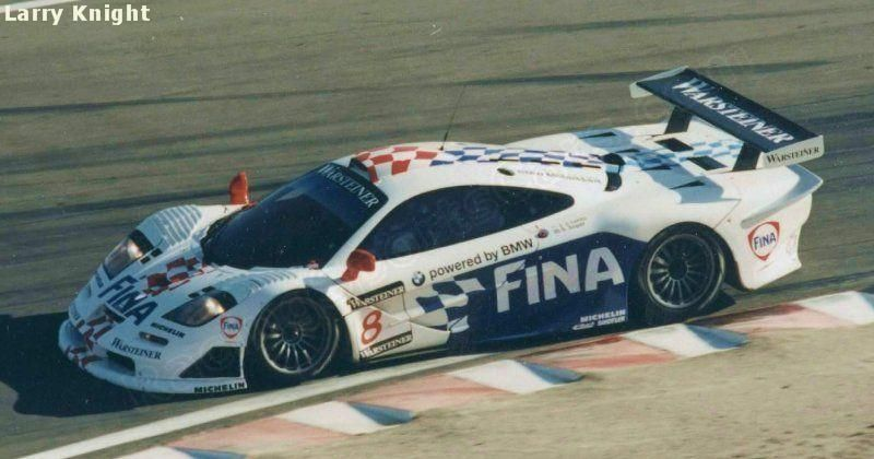 8 - McLaren F1 GTR BMW  - Team BMW Motorsport