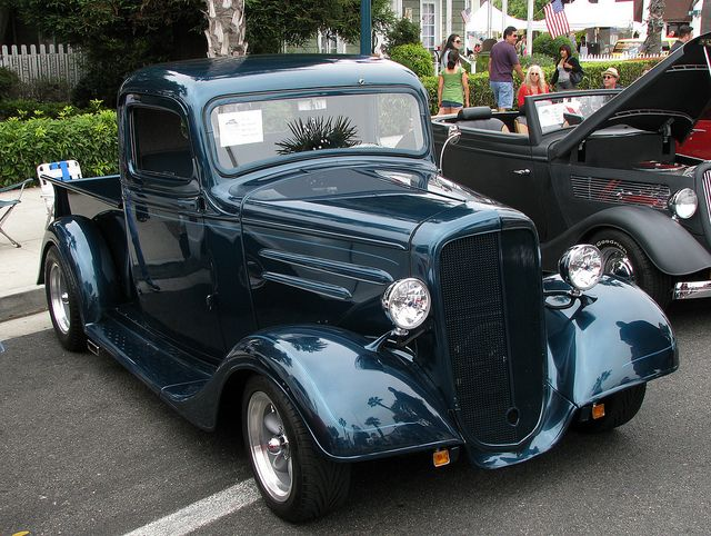 1936 Chevrolet Pickup Truck This Great Vintage Ride Turns Heads Classic Trucks Classic Cars Trucks Chevrolet Pickup