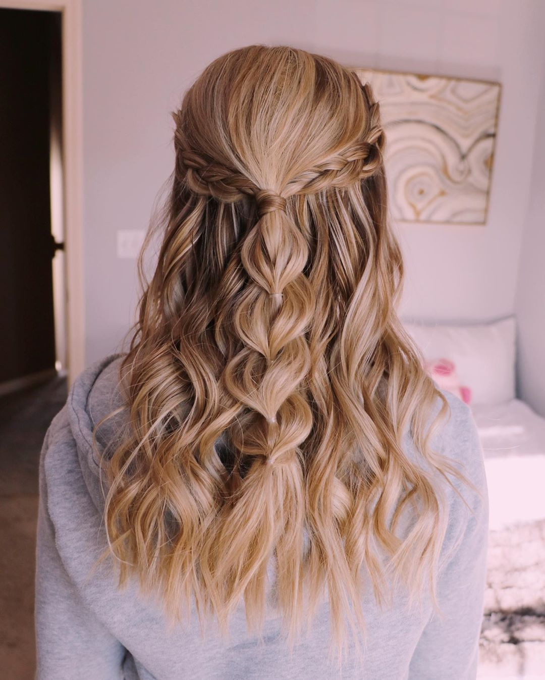 Prom Hairstyles Up - davaocityguy.me | Hair styles, Cute ...