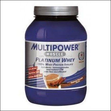 Multipower platinum whey - conf da 800g. gusto cioccolato - $25,00€ - SuQui Shopping by FLEX8411