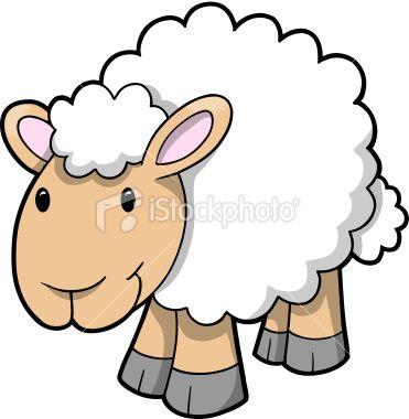 cute sheep lamb vector vector art lambs and royalty rh pinterest com lamb clip art images lamb clipart images