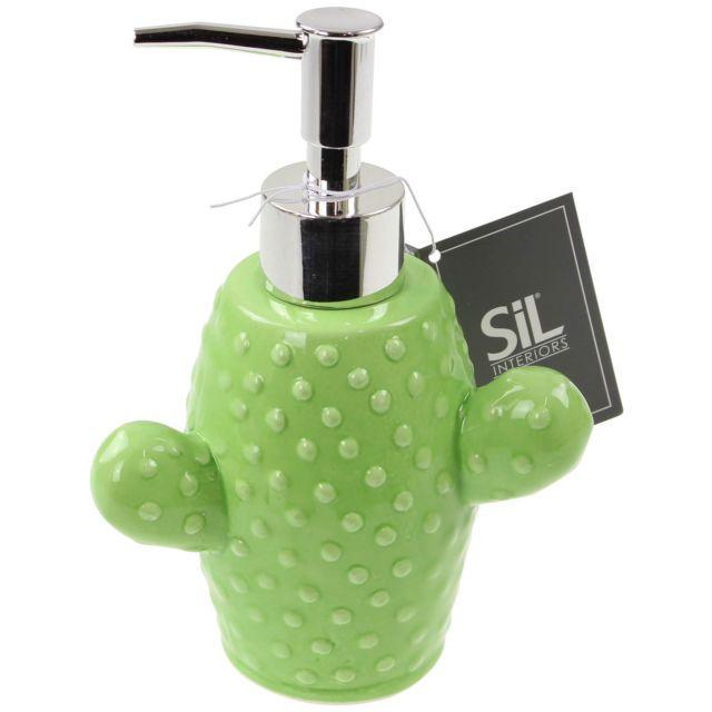 Greatest Cactus Shaped Bathroom Soap Dispenser Liquid Fill Gel Conditioner  WH58