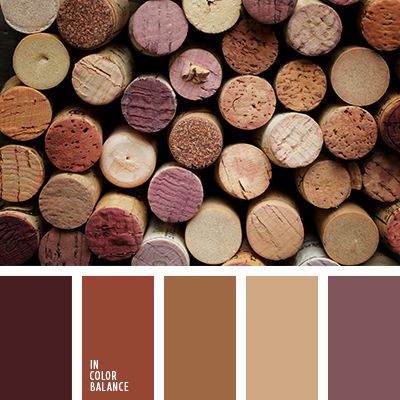 Refined and sophisticated palette in which all the colors for Sophisticated color palette