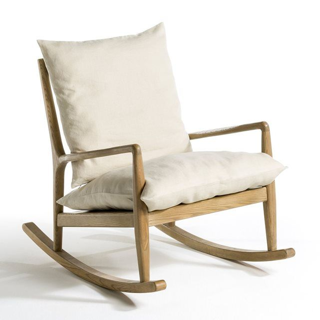 Le rocking chair esprit 50 39 s dilma un style naturel - Rocking chair confortable ...