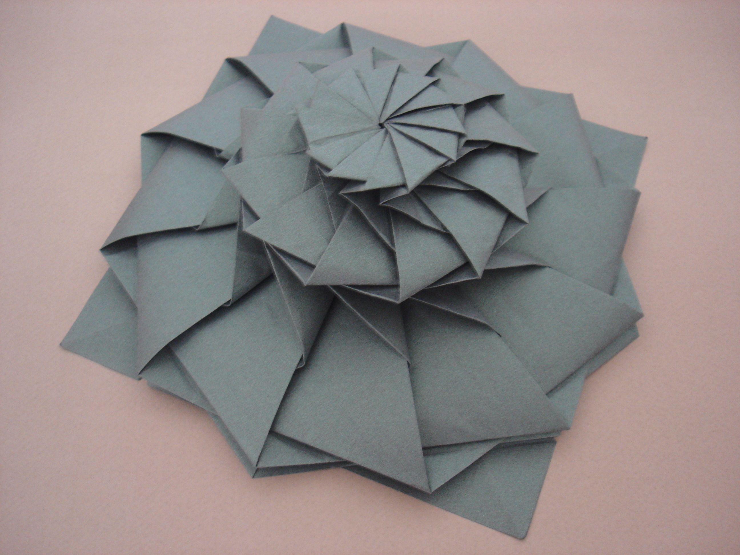 Origami flower tower chris palmer origami teselados espirales y origami flower tower chris palmer mightylinksfo