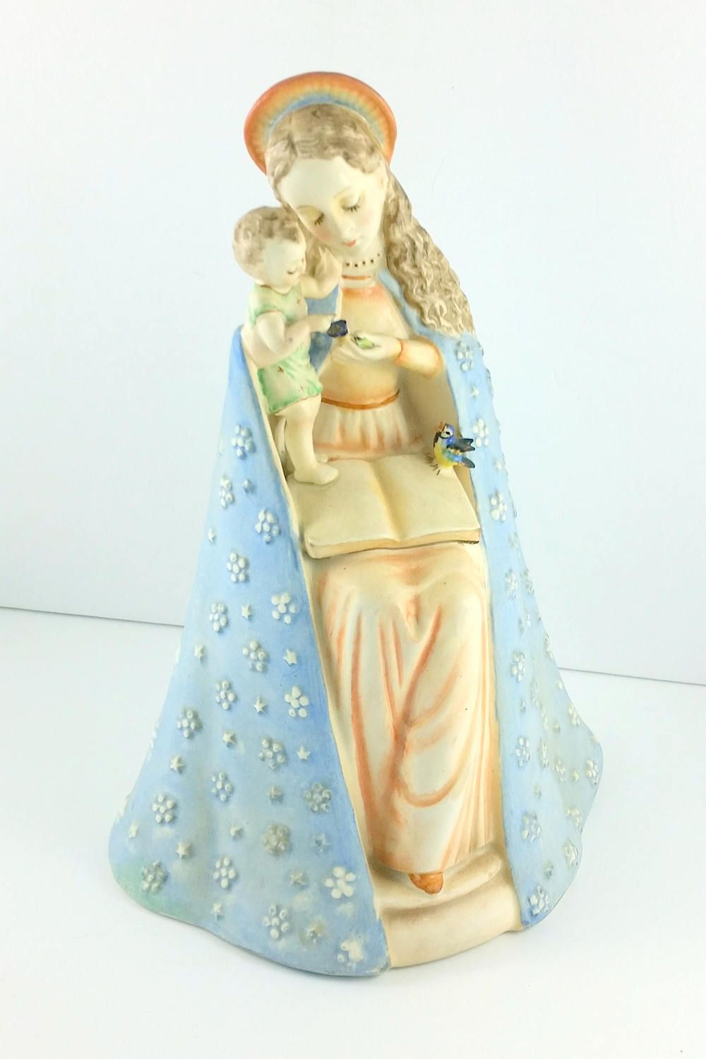 Easter gift 1935 49 hummel flower madonna figurine 825 vintage easter gift 1935 49 hummel flower madonna figurine 825 vintage hummel figurine madonna gift for mom religious figure easter gift for him by negle