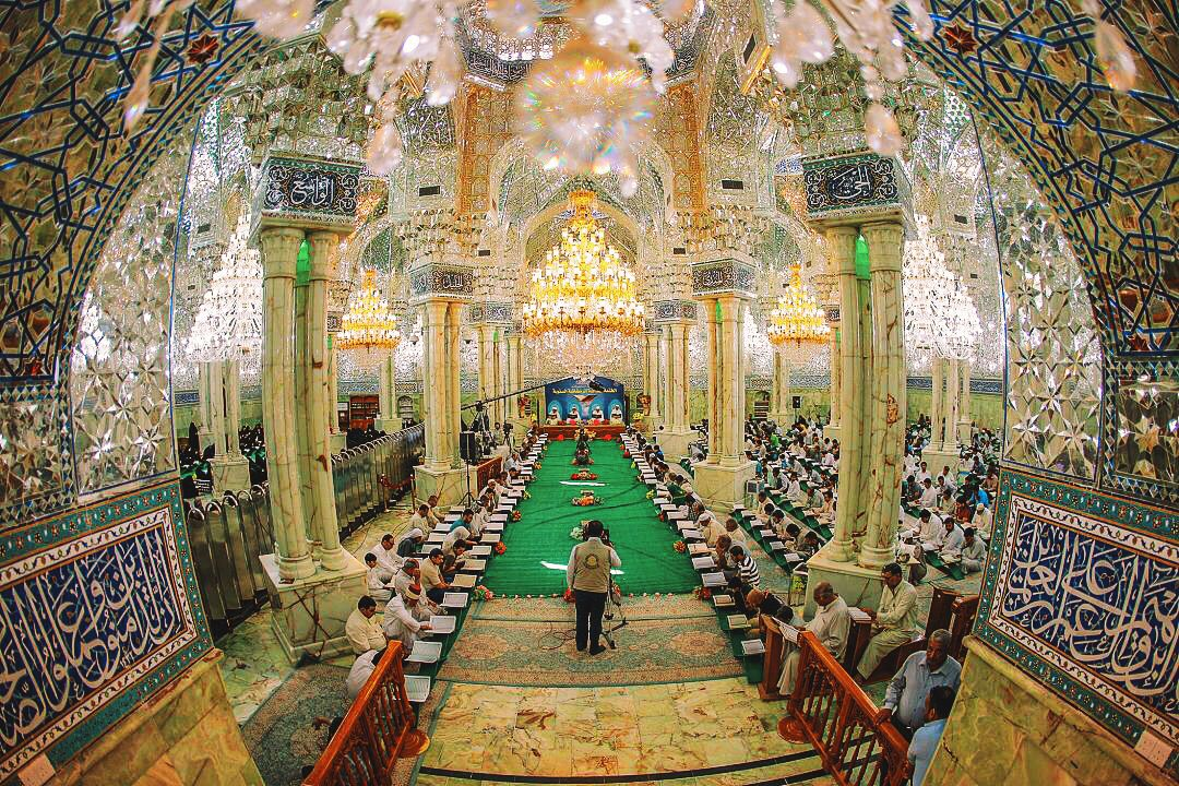 Maula Ali Shrine Wallpaper: Inside The Shrine Of Imam Ali In Najaf, Iraq