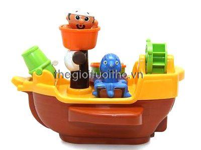 Tầu hải tặc thông minh hàng Nhật xịn chơi được cả trong bồn tắm - shop Thế Giới Tuổi Thơ