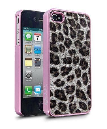 Take a look at this Gold & Rose Leopard Glitz Case for iPhone 4/4S by Cellairis on #zulily today!