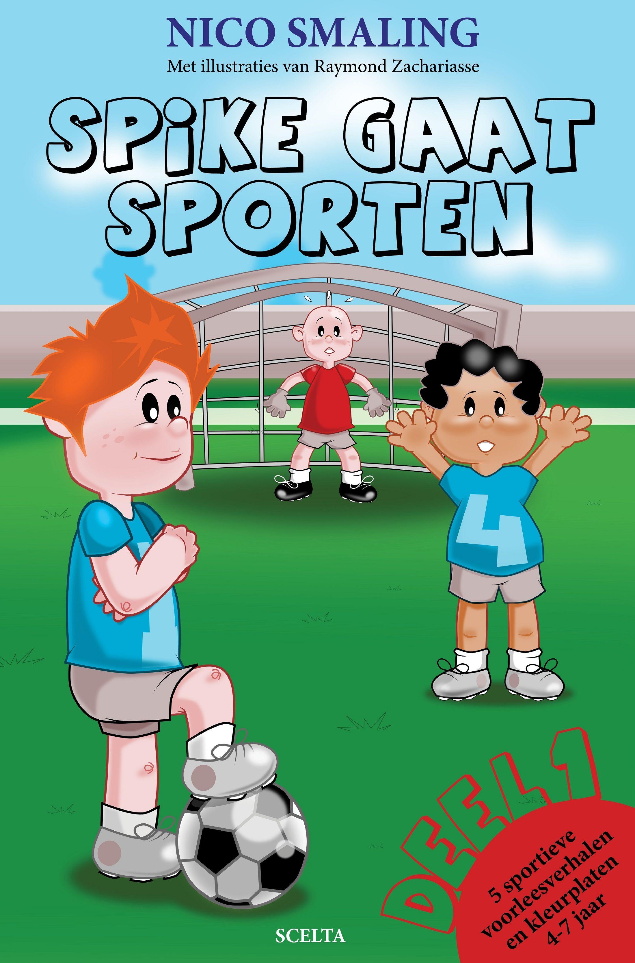 Spike Gaat Sporten Sport Kinderboek Jeugdliteratuur