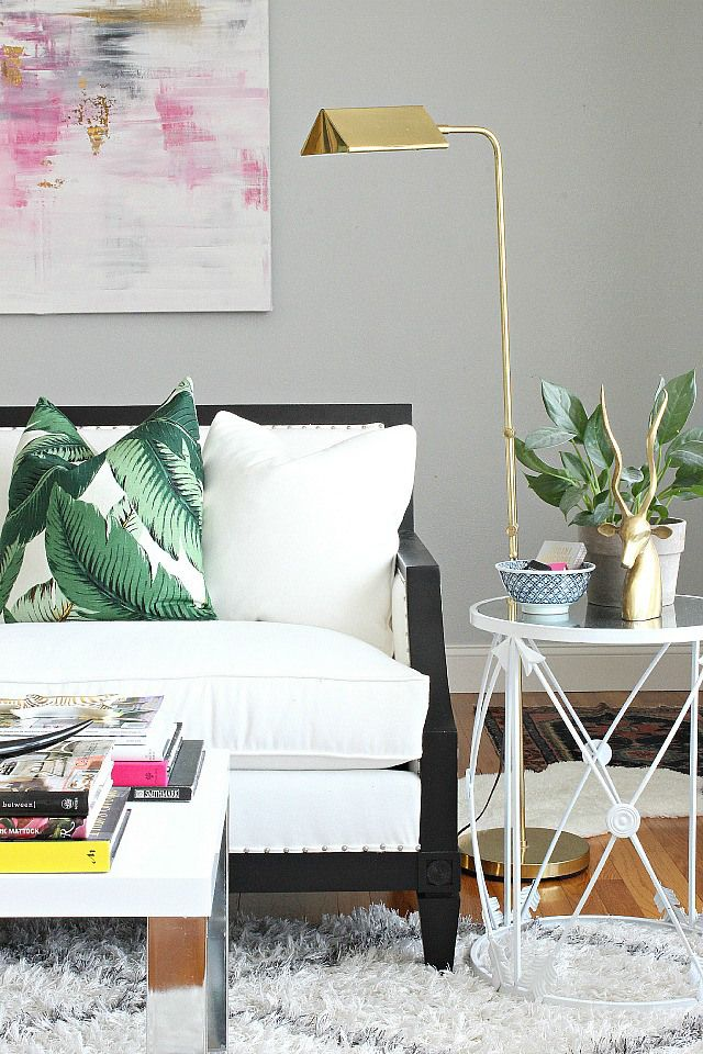 An Illinois family home full of color and style via Bliss at Home.