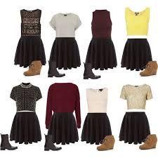09386da40 black skater skirt tumblr - Google Search | My style | Skater skirt ...