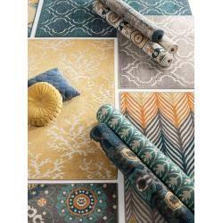 Photo of alfombra para interior y exterior benuta Plus Summer light grey 100×150 cm – para balcón, terraza y jardín