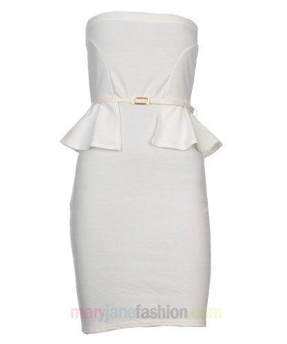 Womens Ladies Peplum Frill Sleevelesspeplum dress #maria257893 #stylefashion #   2dayslook.com