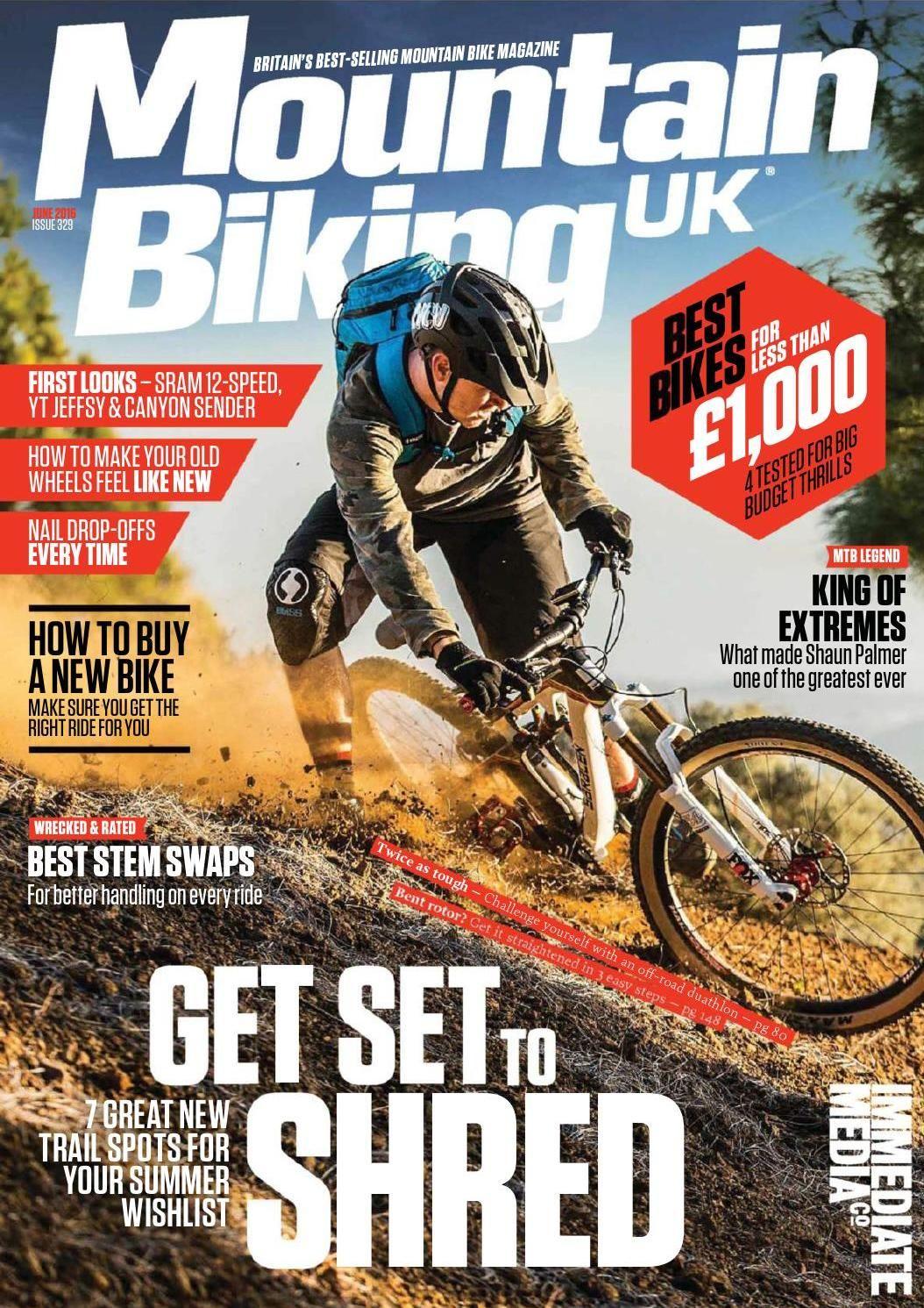 17sdcsdsdc Magazine Design Mountain Bike Magazine Cover