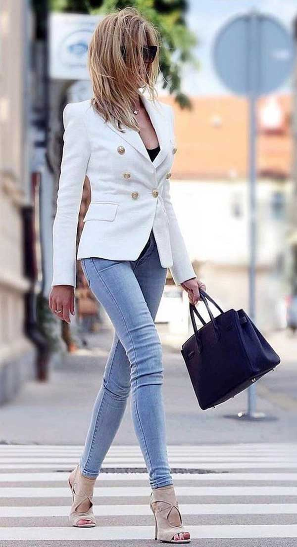 30+ Casual Outfits with Skinny Jeans | Trendy summer outfits